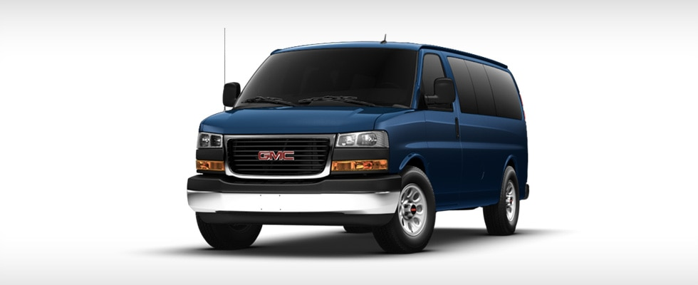Savana 1500 Series Passenger Van in Deep Blue Metallic