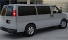 Savana 1500 Series Passenger Van in Quicksilver Metallic